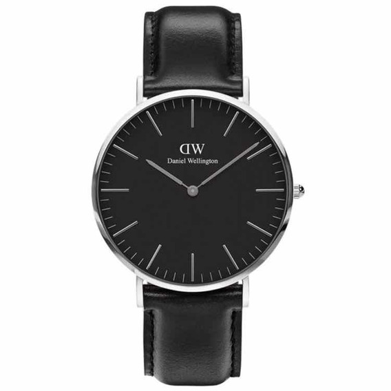 Daniel Wellington | Classic Black 40mm ( Sheffield ) Silver