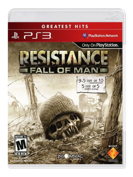 Resistance: Fall Of Man ( Greatest Hits ) - Ps3 Mídia Física