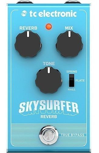 Pedal Tc Electronic Skysurfer Reverb + Nf E Grtia