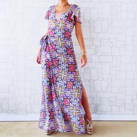 968eb0c90a Vestido Azulejo Portugues - Vestidos Femeninos Longo com o Melhores ...
