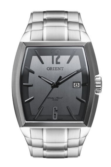 Relógio Orient Masculino Quadrado Gbss1050 G2sx + Nf