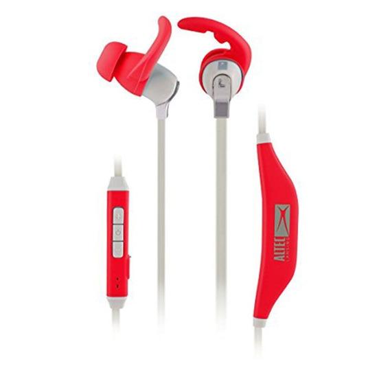 Fone De Ouvido Bluetooth Altec Esportivo E Impermeável Verm