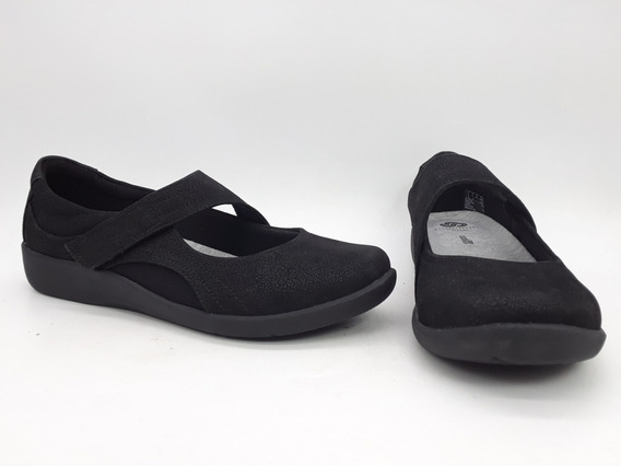 Clarks Sillian Bella Zapatos Color Negro Talla 25.5 Mex