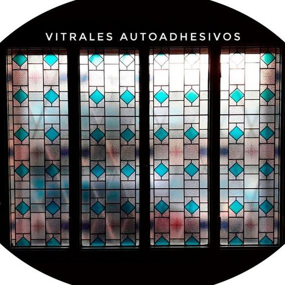 Vitrales Autoadhesivos Vinilos Vidrios Ventanas Vitraux