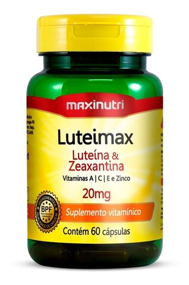 Luteimax Luteína E Zeaxantina - 60 Cápsulas - Maxinutri