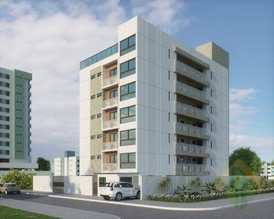 Lançamento! - Apartamento Com 1 Dormitório À Venda, 33 M² Por R$ 172.000 - Intermares - Cabedelo/pb - Cod Ap0782 - Ap0782