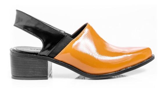 Zapatos Mujer Sandalias Slippers Botinetas Bajas Con Taco