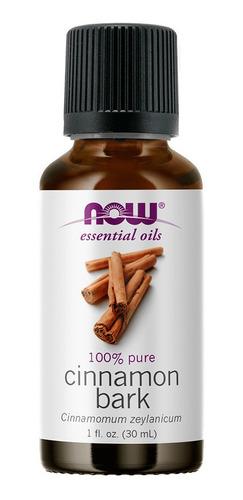Imagem 1 de 1 de Óleo Essencial De Canela Casca Bark 30ml Importado Now Foods