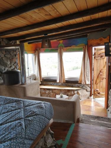 Cabaña De Descanso Con Estufa A Leña. Solo 2 Personas
