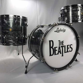 Ludwig Downbeat Black Oyster 1964 - Ringo Star - Vintage