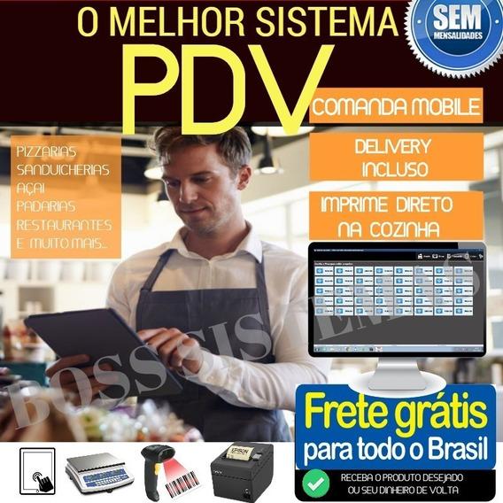 Sistema Pdv Comanda /mobile, Bares, Pastelarias, Sorveterias