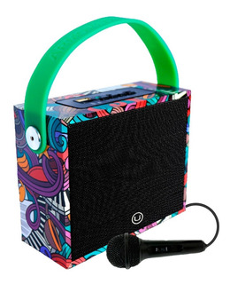 Parlante Bluetooth Portátil Kids Karaoke Chicos Unnic + Mic