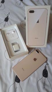 iPhone 8 Plus 256gb Dourado + 10 Capinhas DeBrinde