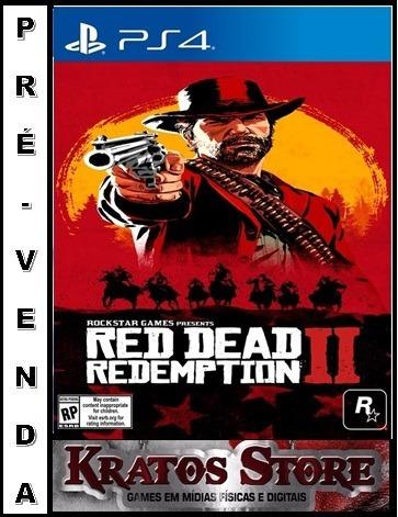 Game Jogo Ps4 Red Dead Redemption 2 - Frete Grátis