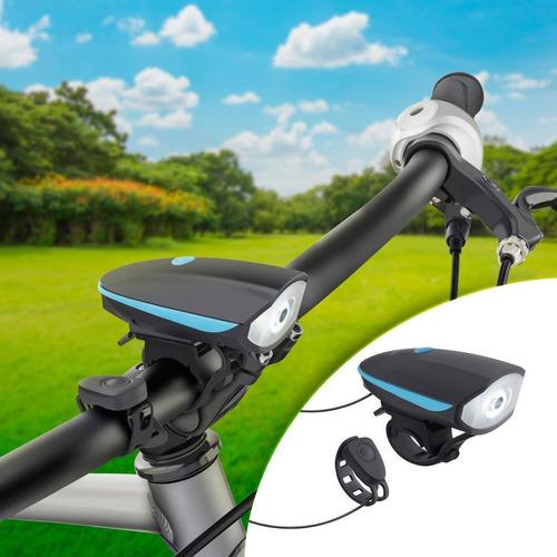 Imagen 1 de 6 de  Linterna Y Claxon Para Bicicleta   |  Bike-010