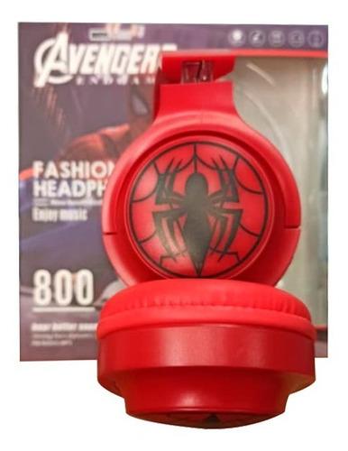 Audifonos Inalambricos Avengers Bluetooth Micro Sd Aux Mdj