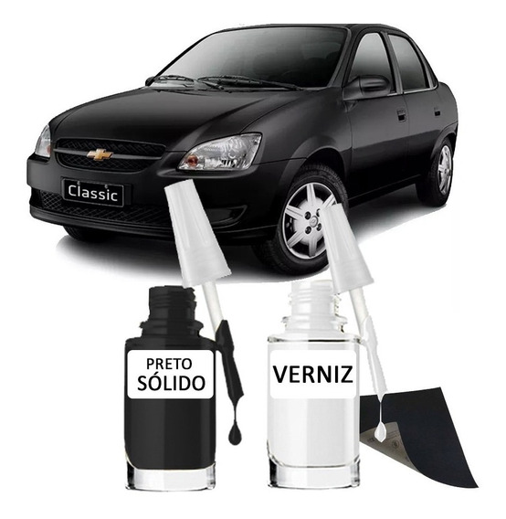 Tinta Tira Risco Automotiva Gm Preto Liszt 15ml