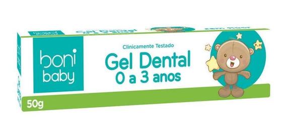 Gel Dental Sem Flúor Boni Baby Personagens 50g