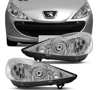 Optica P/ Peugeot 207 2011 2012 2013 2014 2015 2016 Detalle