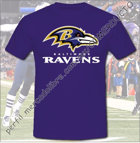 Playera Ravens De Baltimore Superbowl Campeones 2013 Foem