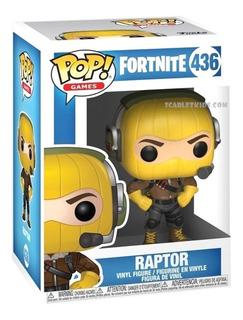 Funko Pop Fortnite Raptor 436 Original Scarlet Kids