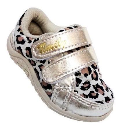 Sapato Infantil Feminino Cano Baixo Menina Casual Tenis