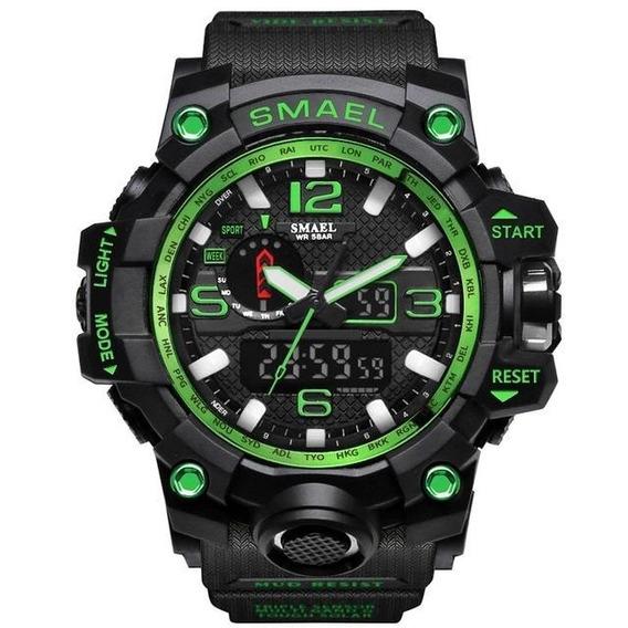 Relógio Smael Militar Original Digital Masculino