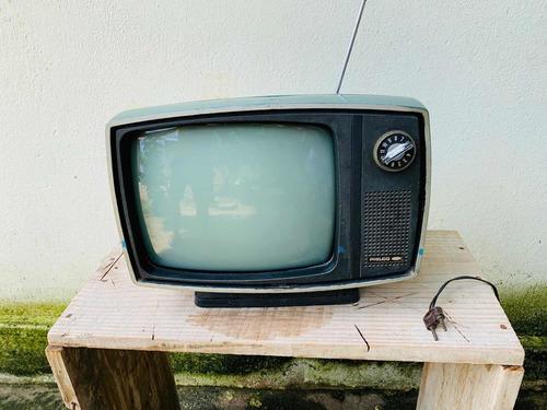 Tv Philco Original Tubo Verde Peça Rara