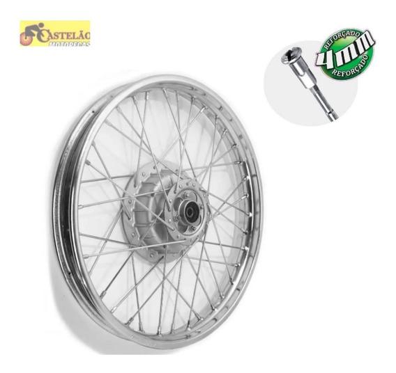 Aro Roda Montada Dianteira Nxr Bros 125-150 Raios 4mm