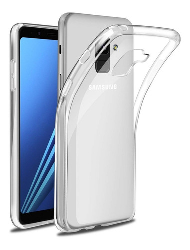 Carcasa De Gel Transparante Para Samsung Galaxy A8 Plus
