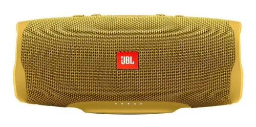 Imagen 1 de 4 de Bocina JBL Charge 4 portátil con bluetooth mustard yellow 110V/220V