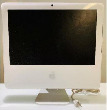 Apple iMac Modelo A1208 17 Polegadas Tela Sem Imagem