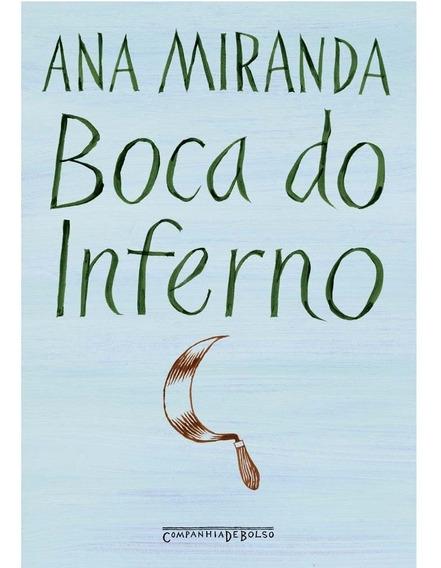 Livro Boca Do Inferno - Autor: Ana Miranda - 3ª Ed.