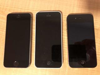 iPhone 4 + 5c + 5s