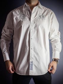 8763843a9e Camisa Social La Martina - Tam  M