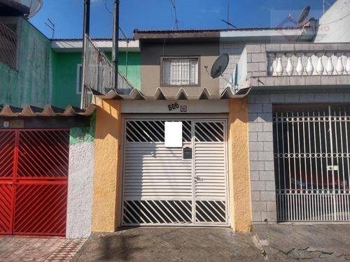 Sobrado Com 2 Dormitórios À Venda, 79 M² Por R$ 320.000 - Jardim Grimaldi - São Paulo/sp - So1149