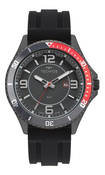 Relógio De Pulso Technos Pulseira Silicone 2115msi/8p