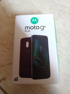 Caixinha Motorola Moto G4 Play + Fone + 2 Capinhas Originais