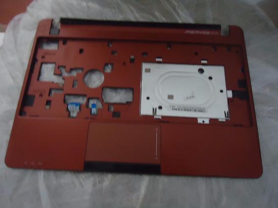 Carcaça Base Superior Netbook Acer Aspire One Ao722 Vermelha
