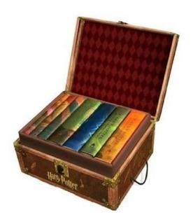 Box Set 7 Libros Harry Potter Edición De Colección (inglés)