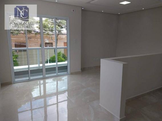 Sobrado Com 3 Dormitórios À Venda, 170 M² Por R$ 490.000 - Vila Floresta - Santo André/sp - So3138