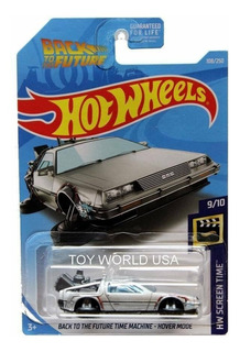 Hotwheels Back To The Future Time Machine Hover #108 2019