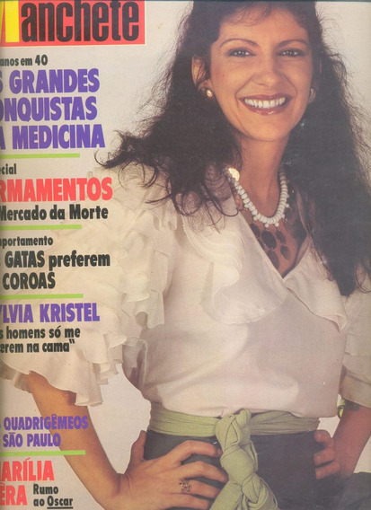 Manchete 1982 - Miss Ipanema* Xuxa* Lombardi* Mario Gomes*