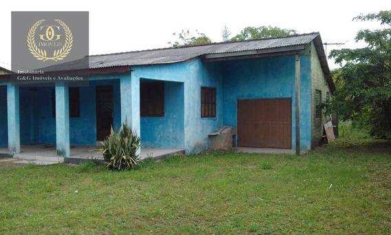 Casa Com 2 Dormitórios À Venda, 50 M² Por R$ 160.000,00 - Itapuã - Viamão/rs - Ca0375