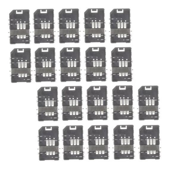 Pacote De 20 Titulares De Cartão Sim, Peças De Reparação