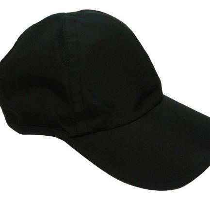 Gorras De Microfibta Deportivas Color Negro Envios
