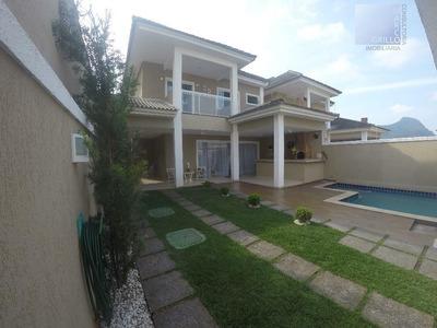 Casa Com 3 Quartos À Venda, 190 M² Por R$ 950.000,00 - Vargem Pequena - Rio De Janeiro/rj - Ca0011