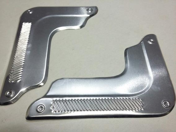 Par De Canto Largo Do Fusca Aluminio