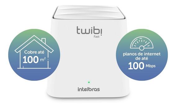 Roteador Intelbras Twibi Wifi Mesh Fast 2,4 E 5 Ghz 100m²