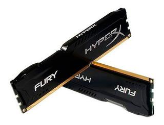 Memoria Ram Hyperx Fury Negro - 4gb - Ddr3 1600mhz